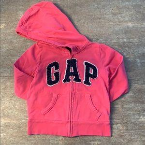 Gap girls hooded sweatshirt XS(4/5)